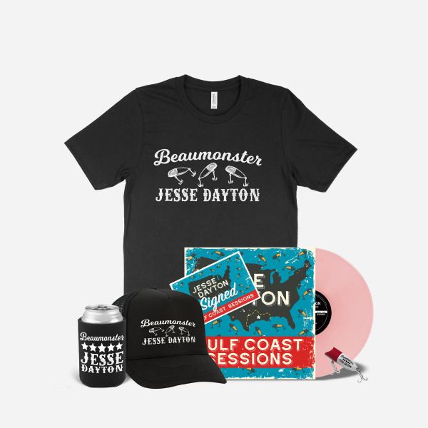 Jesse Dayton Gulf Coast Sessions Vinyl Beaumonster Bundle