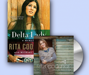 "Rita Coolidge – ""Safe In The Arms of Time"" CD + Delta Lady: A Memoir Book"