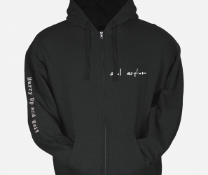 Soul Asylum – Hurry Up and Wait Zip Up Hoodie